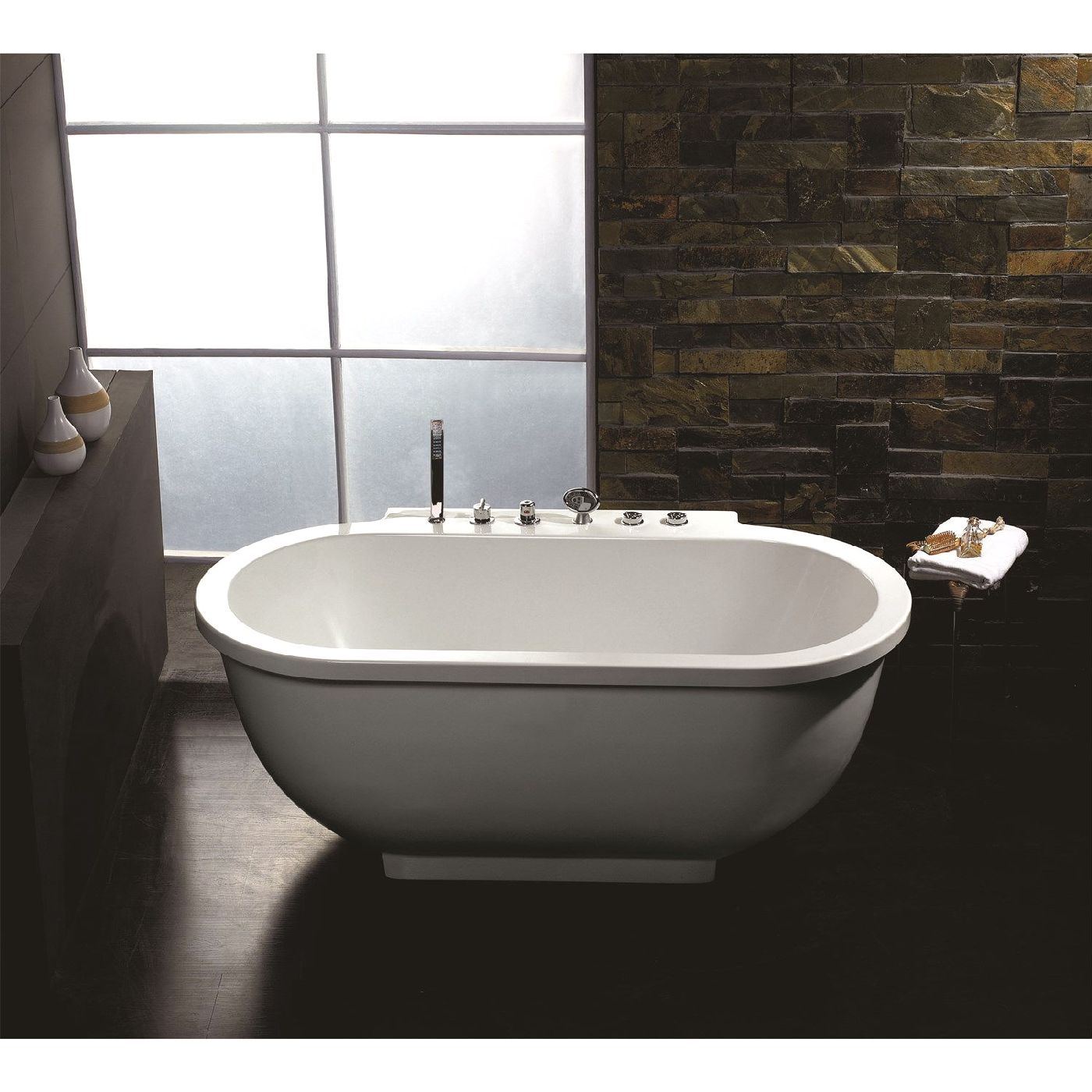 Ariel Contemporary Bathtub Am128jdclz