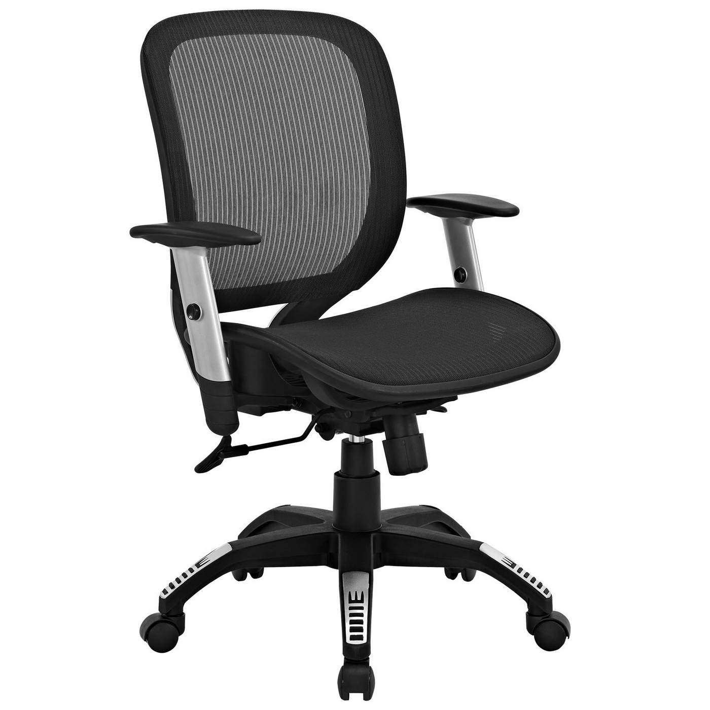 Arillus Contemporary All Mesh Office Chair w/ Adjustable ...