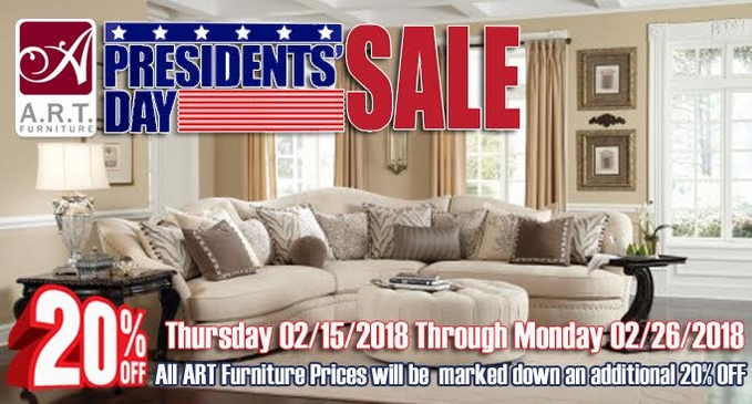 Art Furniture Presidents Day Sale 2018