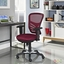 Articulate Modern Adjustable Ergonomic Mesh Office Chair, Red