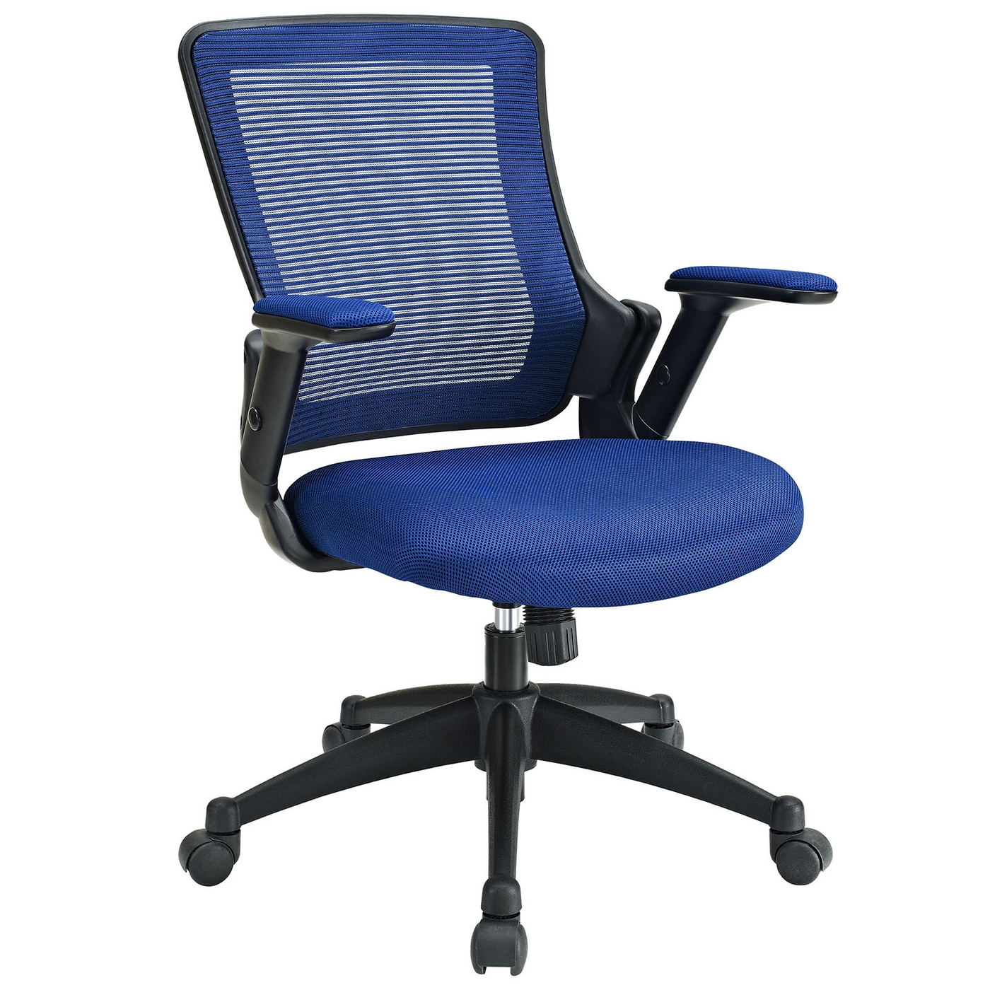 Aspire contemporary ergonomic mesh multi function office for Blue office chair