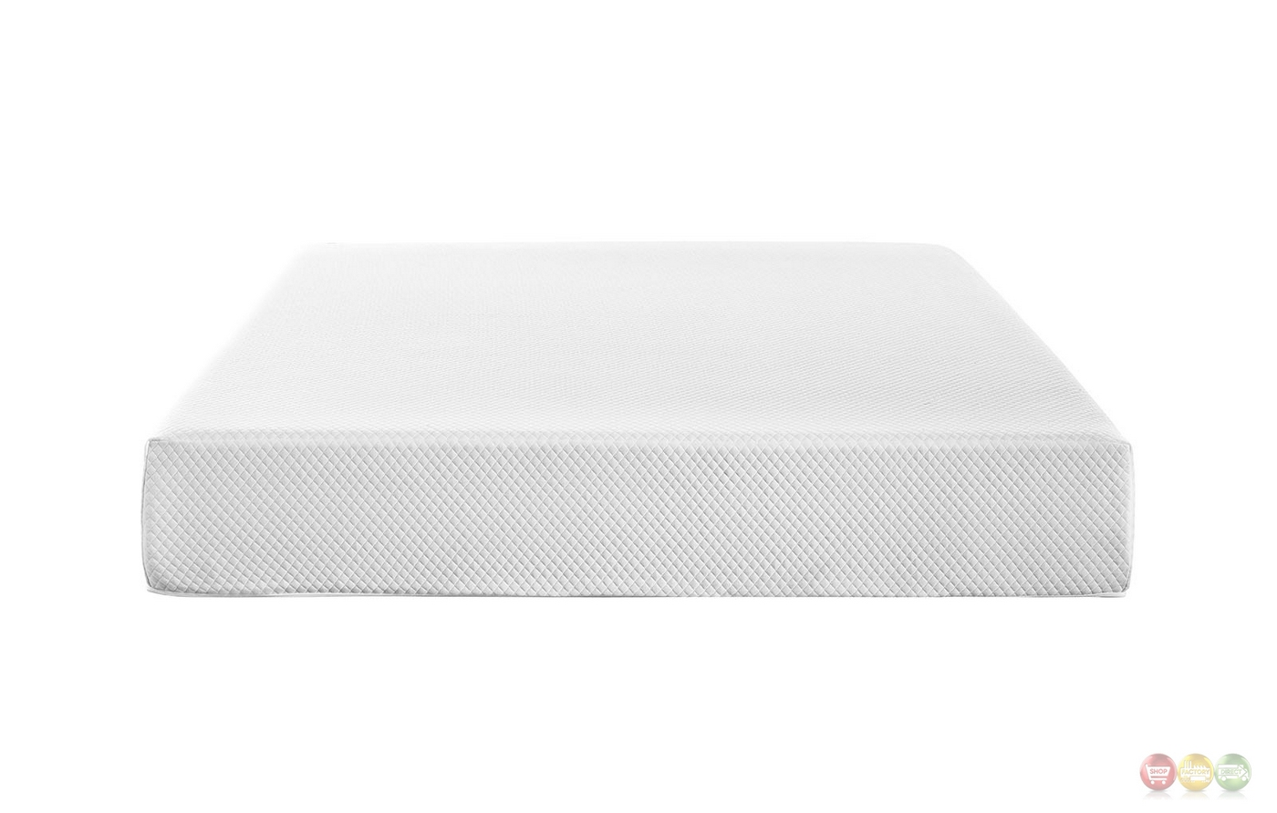 Aveline Certipur Us Gel Infused 10 Quot King Mattress White