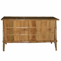 Bamboo Bar No Roof Tiki Theme Outdoor Furniture-2 - 2405 6