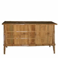 Bamboo Bar No Roof Tiki Theme Outdoor Furniture - 2405 5