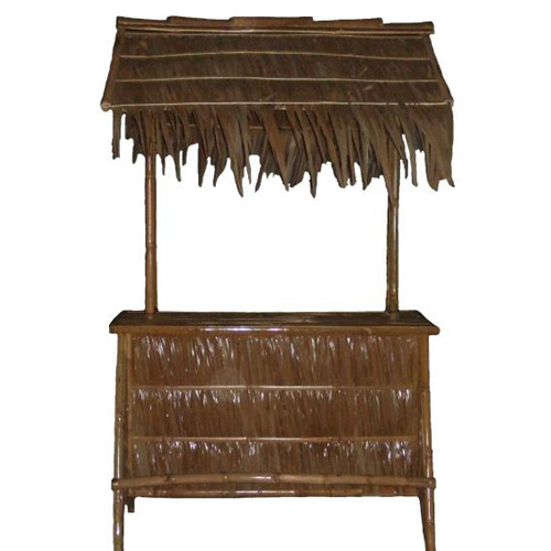 Bamboo Nipa 5 feet Tiki Bar Cogon Roof Outdoor Furniture - 2406
