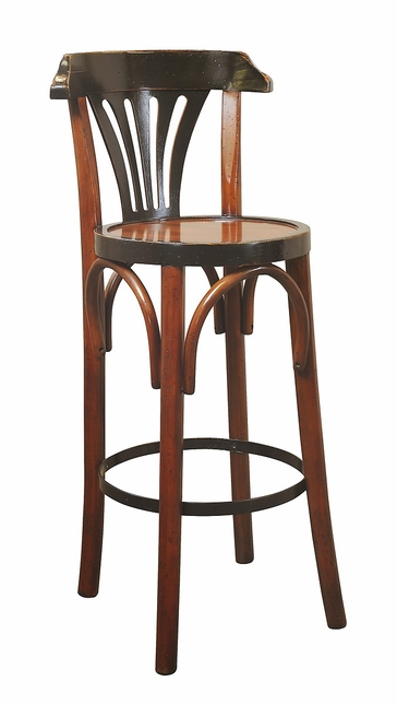 Barstool De Luxe 'Grand Hotel' Honey Authentic Models MF044A