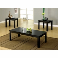 Bay Square Contemporary Black Accent Tables