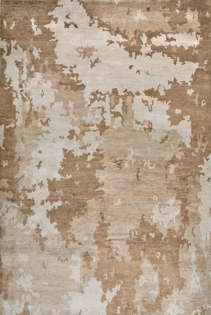 Rizzy Rugs Beige & Brown Contemporary Hand Knotted Area Rug Avant Garde AG2760