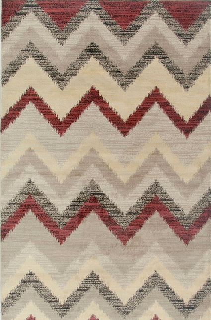 Rizzy Rugs Beige Transitional Power Loomed Area Rug Bayside BS3593