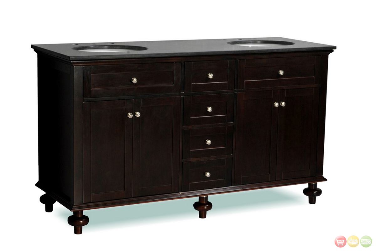 belmont decor colonial double sink bathroom vanity dt14d4 60