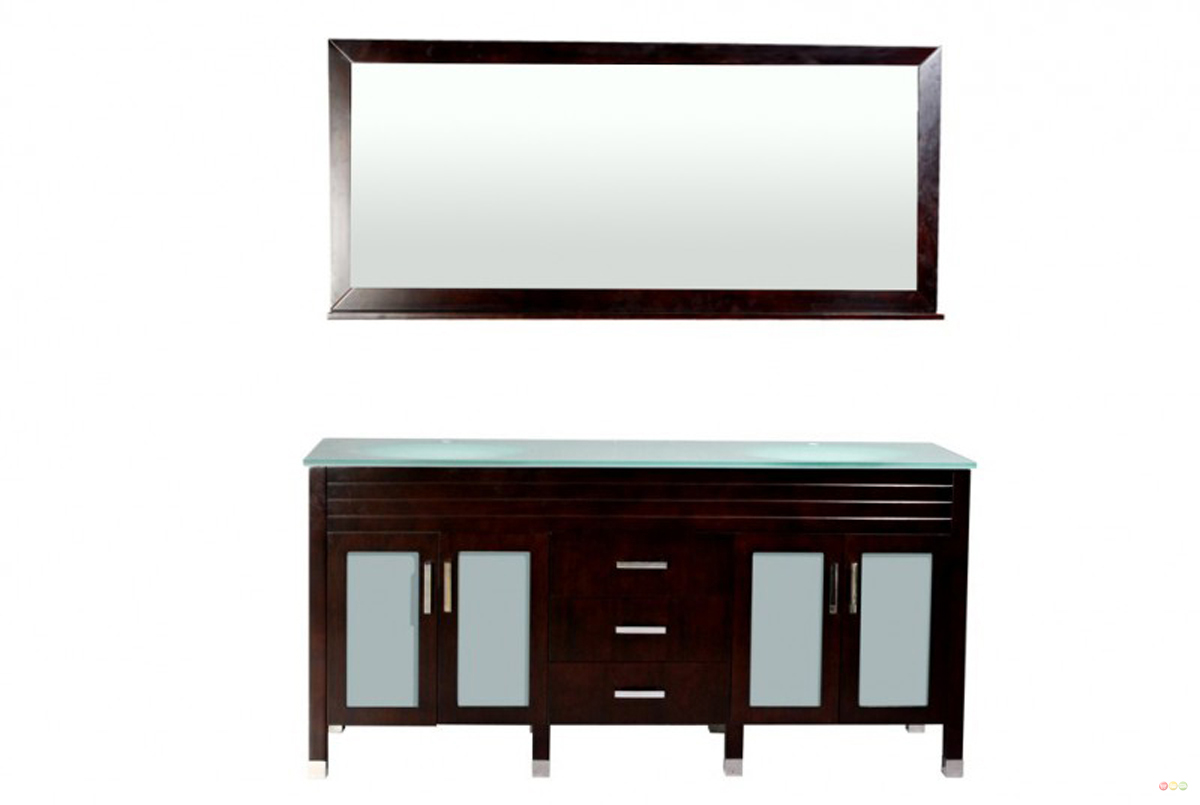 Belmont Decor Dayton Double Sink Bathroom Vanity Dm1d3 72 Esp