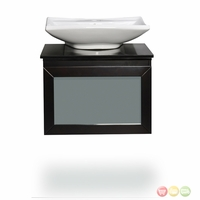 Belmont Decor Newport Single Vessel Sink Bathroom Vanity WM3-24