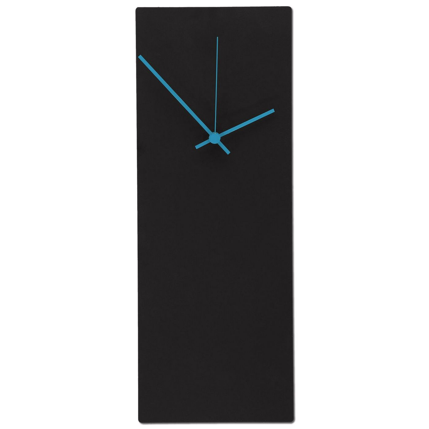 Blackout Blue Wall Clock Minimalist Modern Clock L0183
