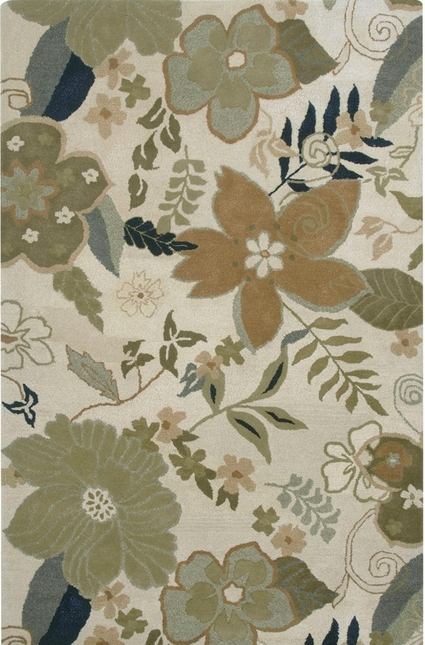 Rizzy Rugs Blanc Floral Hand Tufted Area Rug Pandora PR1740