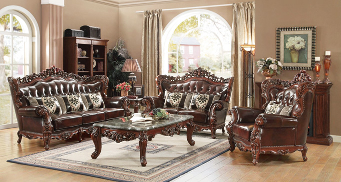 Bridgeton Moore Patio Furniture ShopFactoryDirect · Bold Traditional Style Living  Room Furniture