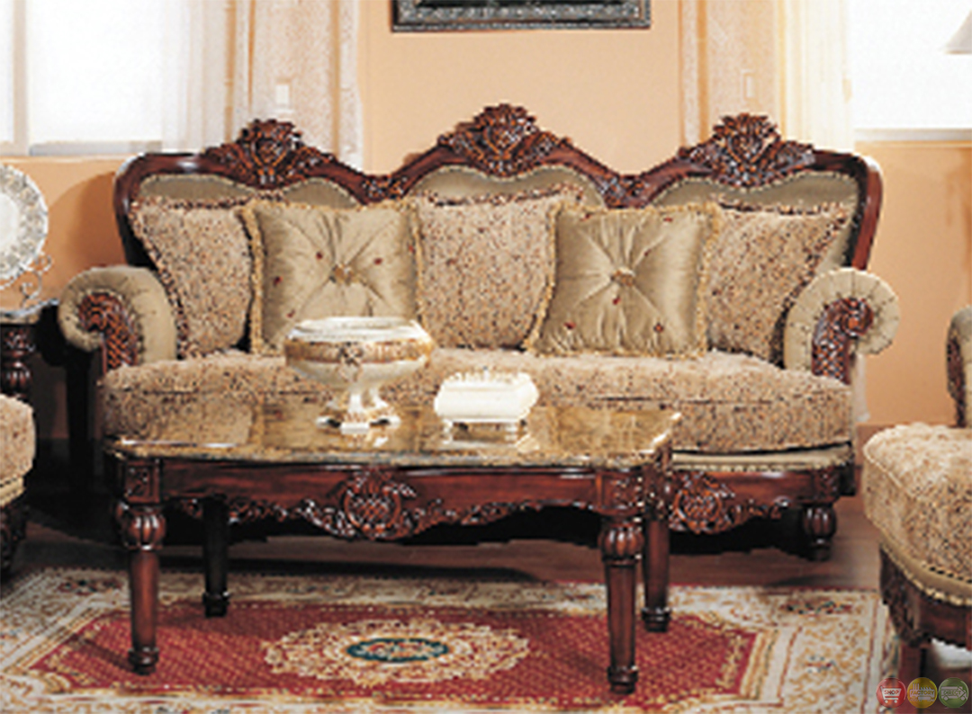 Bordeaux luxury chenille formal living room sofa and for Formal sofa sets