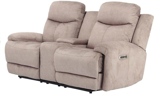Astounding Bowie Doe Fabric Power Dual Reclining Loveseat With Power Caraccident5 Cool Chair Designs And Ideas Caraccident5Info