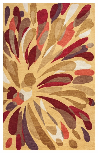 Bradberry Downs Abstract Flower Wool