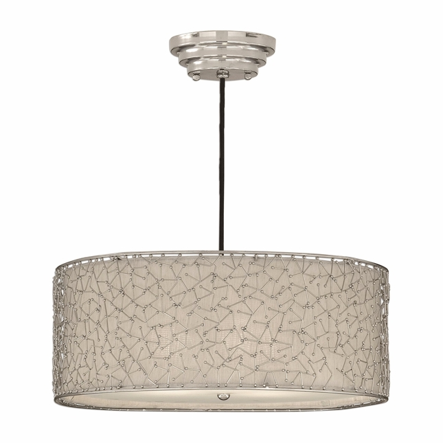 Brandon Modern 3 Light Drum Pendant 21154