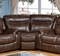 Braylon Classic Brown Sectional Wedge In Premium Leather Air Fabric