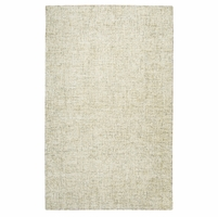 """Rizzy Brindleton Soft Wool Runner Area Rug 2'6""""x 8'Beige Brown Ivory White Solid"""