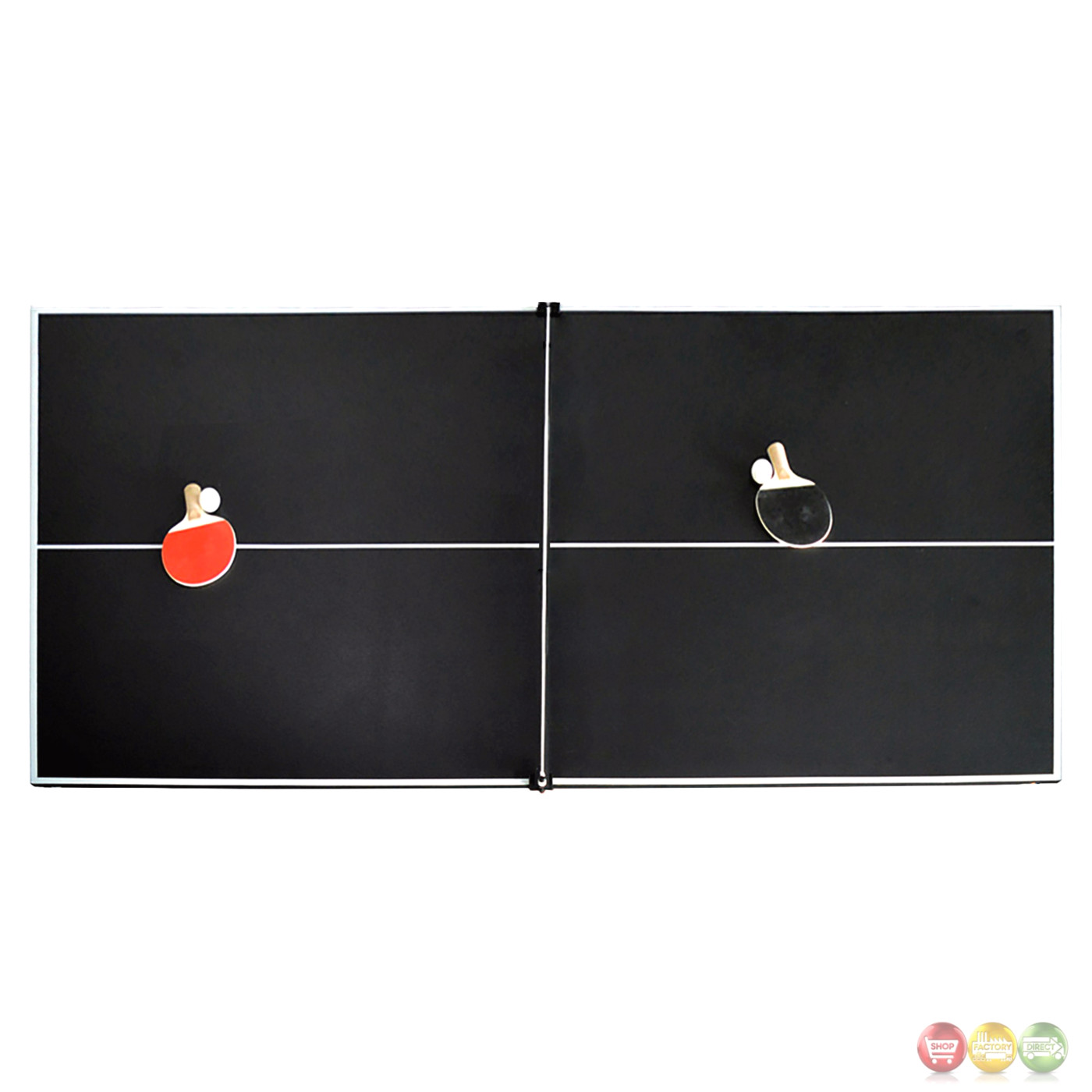 Bristol 7 ft game table 2 in 1 pool table tennis in for 10 in 1 pool table