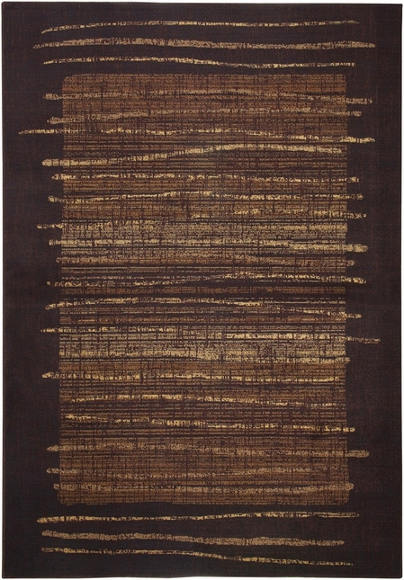 Rizzy Rugs Brown Modern Power Loomed Area Rug Bellevue BV3194