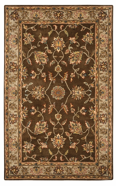 Rizzy Rugs Brown Traditional Hand Tufted Area Rug Volare VO1145