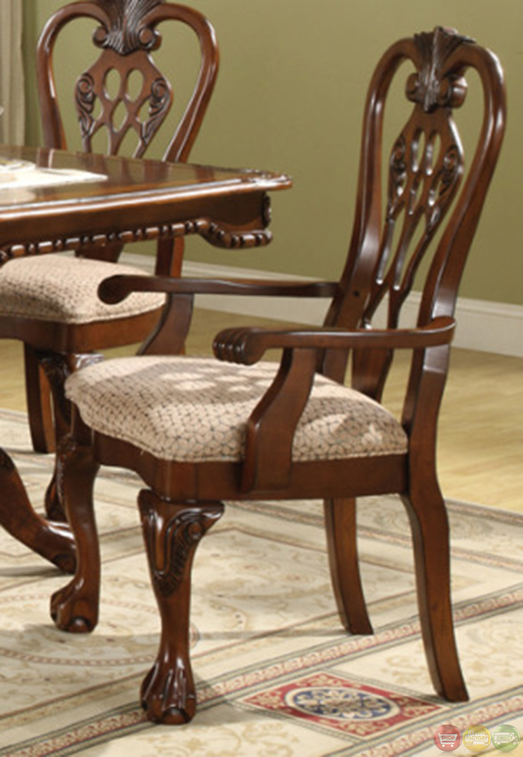 Brussels traditional dining room table and chairs 7 piece set for 7 piece dining room set