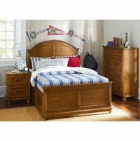 Bryce Canyon Rustic American Arched Panel Full Bed
