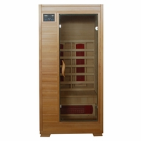 BUENA VISTA 1 Person Hemlock Sauna with Ceramic Heaters SA2400