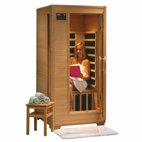 Buena Vista Hemlock Carbon Heater Personal FAR Infrared Sauna SA2402