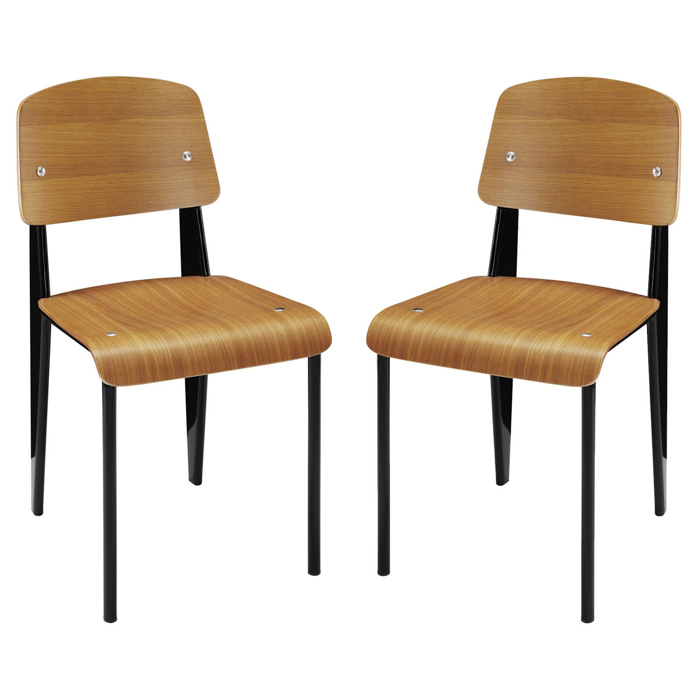 Natural Wood Dining Chairs ~ Cabin contemporary natural wood dining side chair w