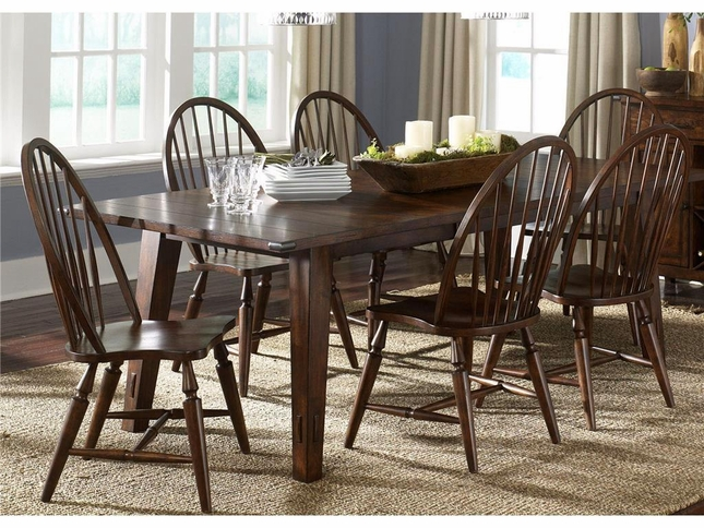 Cabin Fever Rectangular Dining Room Furniture Set