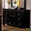 Cambridge Espresso Panel Bedroom Set with English Dovetail Drawers