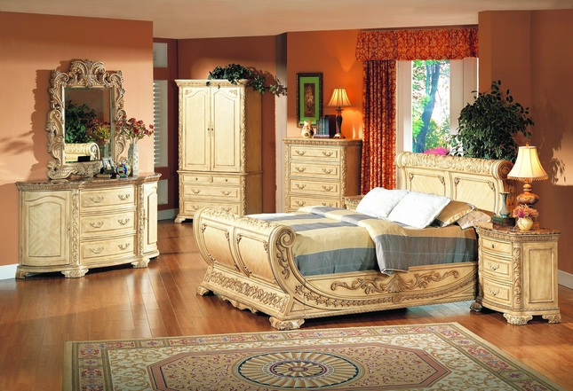 Cannes Whitewash Traditional Bedroom Furniture Collection|Free ...