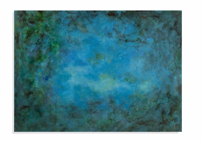 Caribbean Water Transitional Canvas Wrap Wall Art 7300-140EC