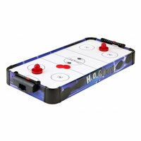 Carmelli Blue Line 32-in Portable Battery Powered Air Hockey Table in Royal Blue