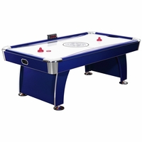 Carmelli Phantom 7.5-Ft Premium Air Hockey Table with Electronic Scoring in Deep Blue