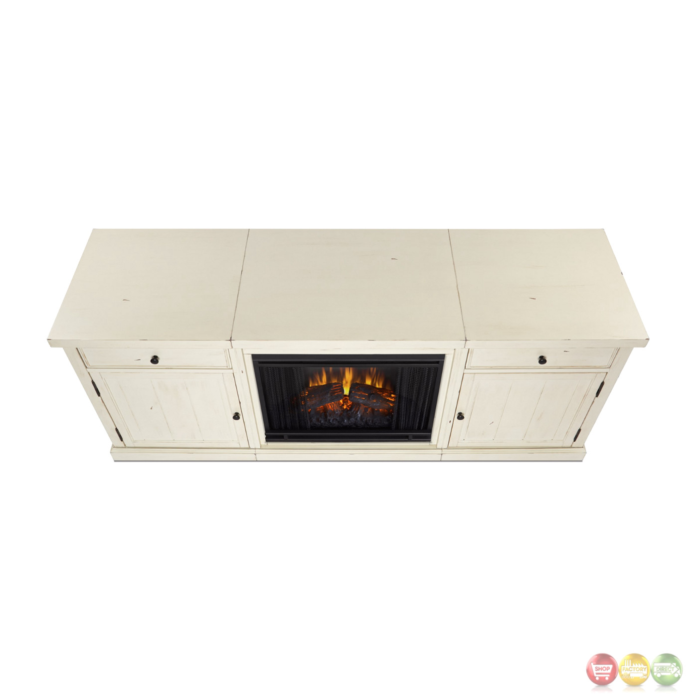 Cassidy Entertainment Center Electric Fireplace In