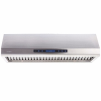 Cavaliere AP38-PS63 36in Under Cabinet Range Hood