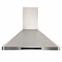 Cavaliere-Euro AP238-PS31-36 Stainless Steel Wall Mount Range Hood