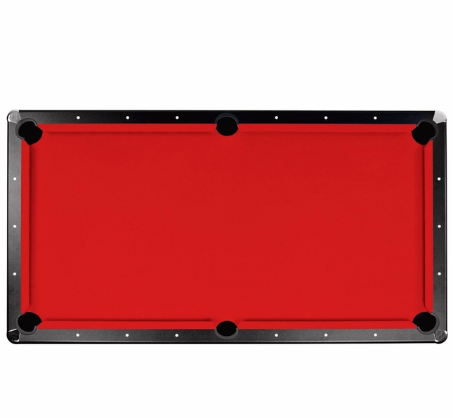 Championship 7-Ft Saturn II Billiard Red Cloth Pool Table Replacement Felt