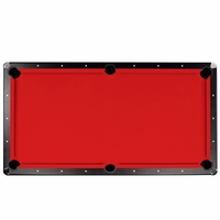 Championship 7 Ft Red Saturn Ii Billiard Cloth Pool Table Felt