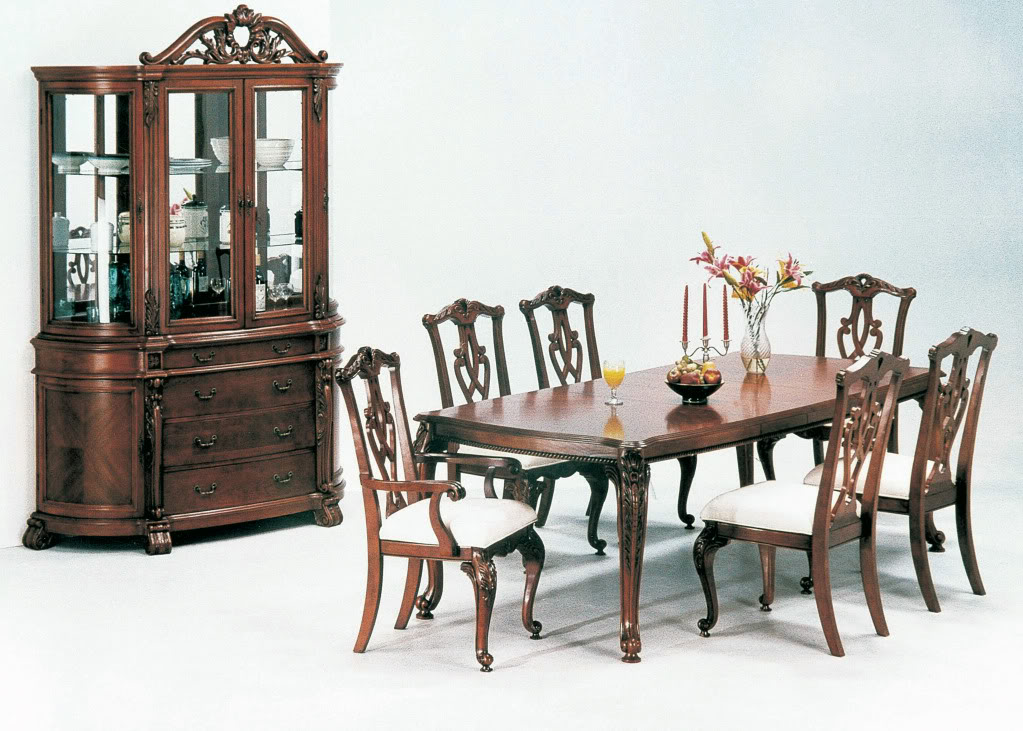 Fresh interior design formal dining room furniture for Formal dining room tables