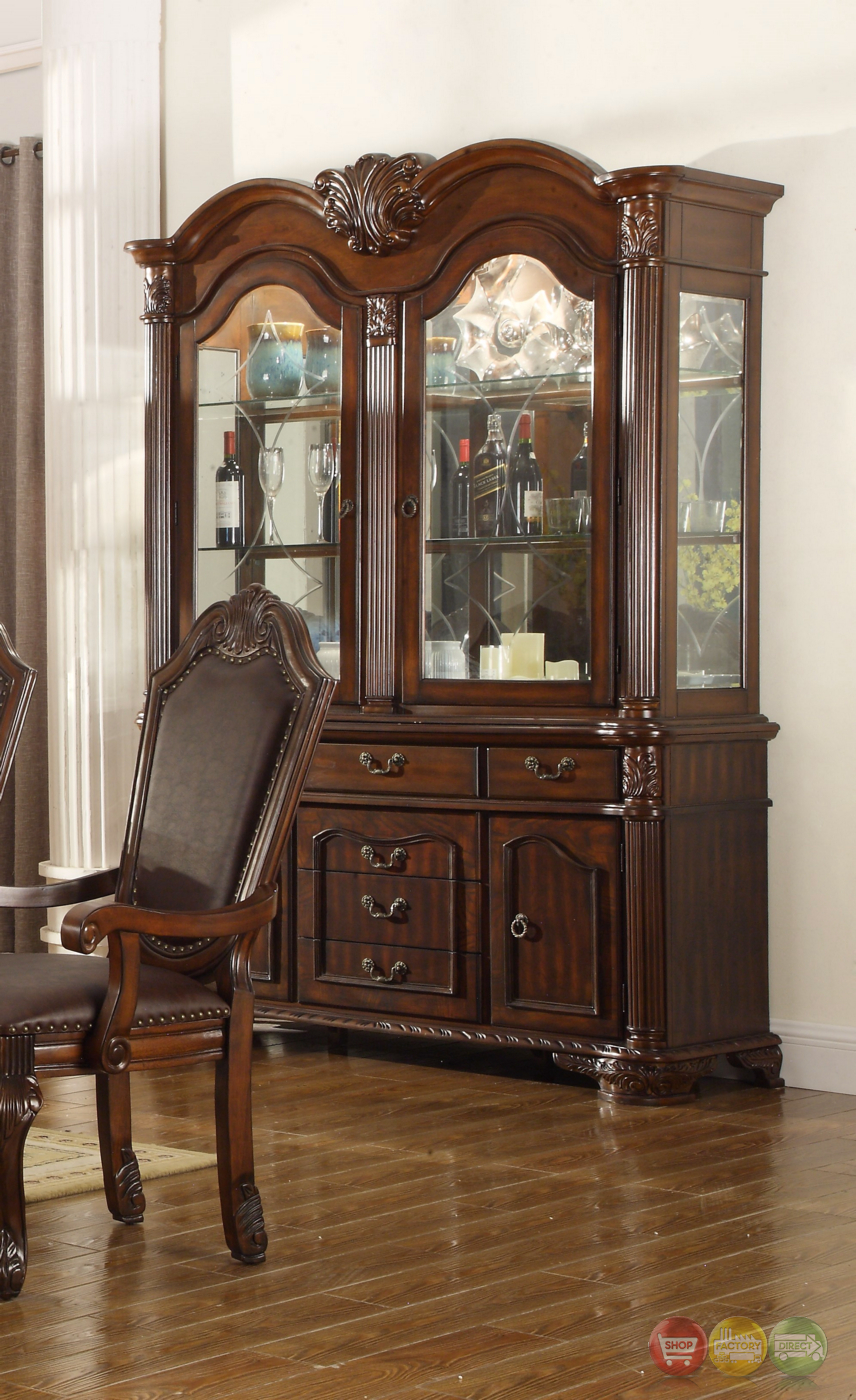Chateau traditional formal dining room furniture set free for Formal dining room furniture sets