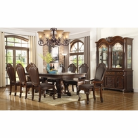 Chateau Traditional Cherry Formal Dining Room Furniture Set