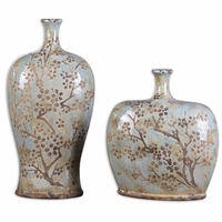 Citrita Traditional Set of 2 Decorative Vases 19658