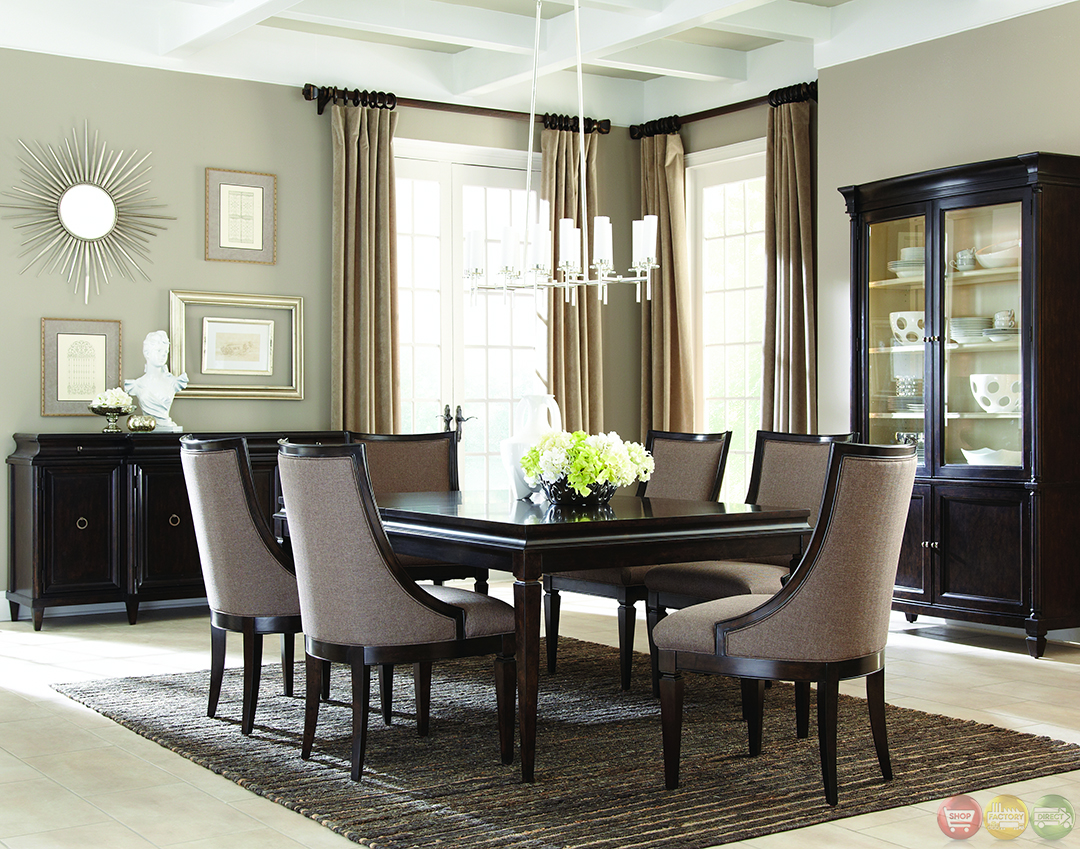Classics contemporary brindle finish formal dining set - Modern dining rooms ...