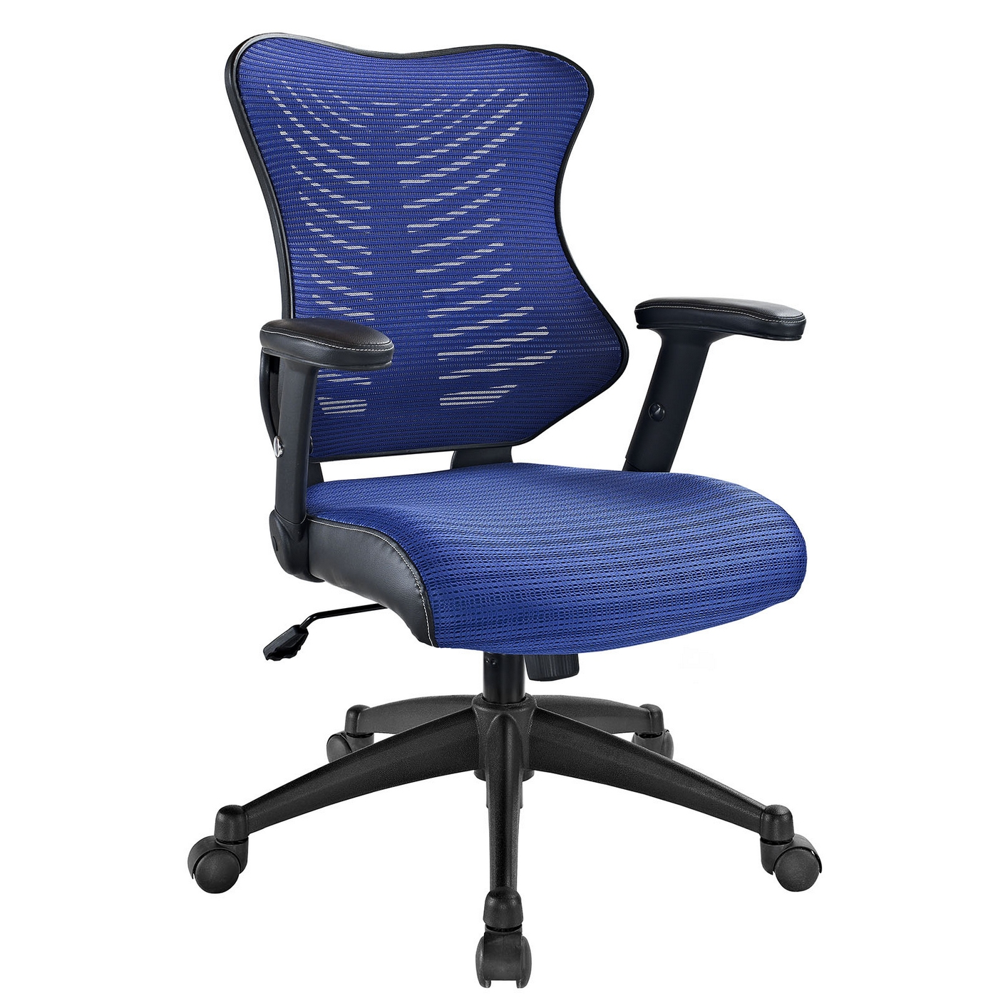 Clutch Modern Office Chair With Ergonomic Mesh Back